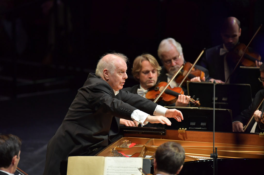 Barenboim - photo credit BBC Chris Christodoulou