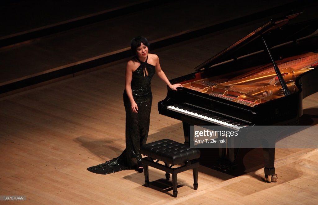 Yuja Wang performs in London - credit Amy T Zielinski