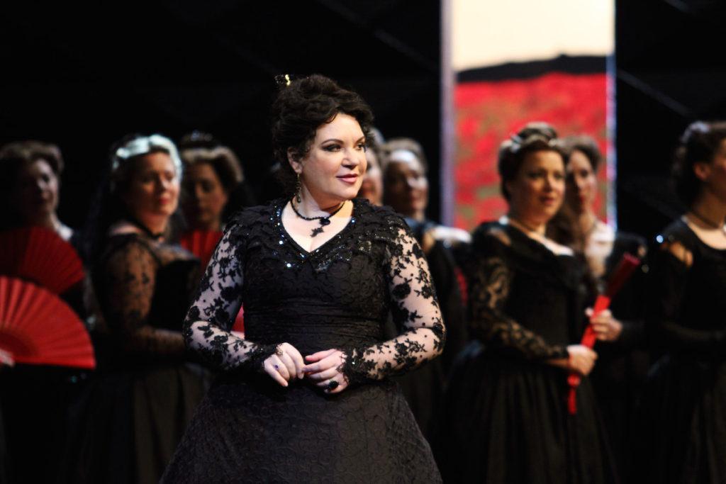 Ekaterina Semenchuk as Princess Eboli ©ROH photo by Catherine Ashmore