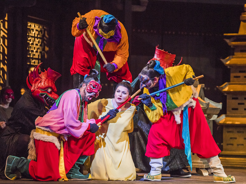 Turandot by Puccini at Royal Opera House - credit Tristram Kenton