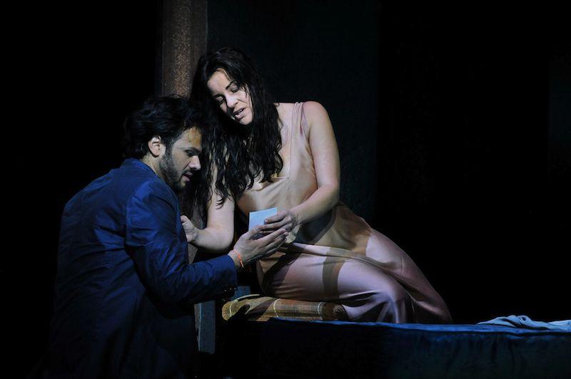 Alfredo (Atalla Ayan) and Violetta (Joyce El-Khoury) cr Robbie Jack