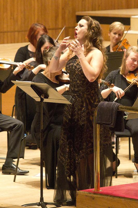 Louise Alder in action credit Belinda Lawley
