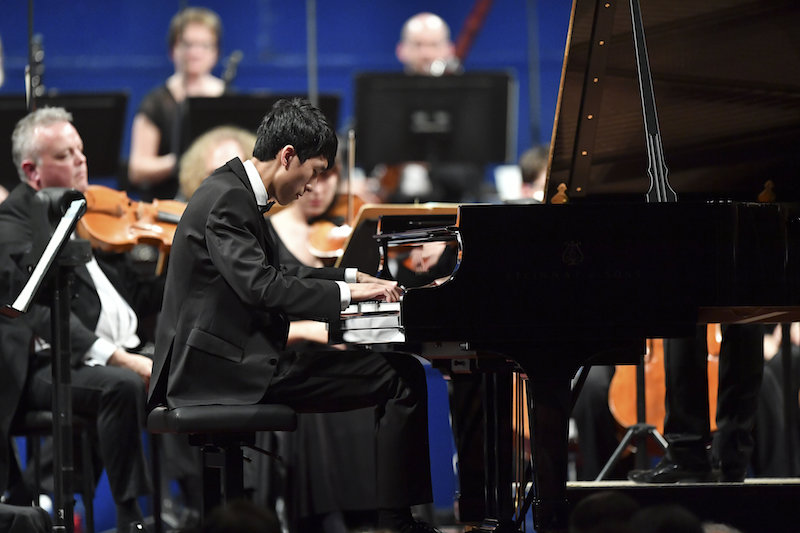 Eric Lu, Leeds International Piano Competition (c) Simon Wilkinson