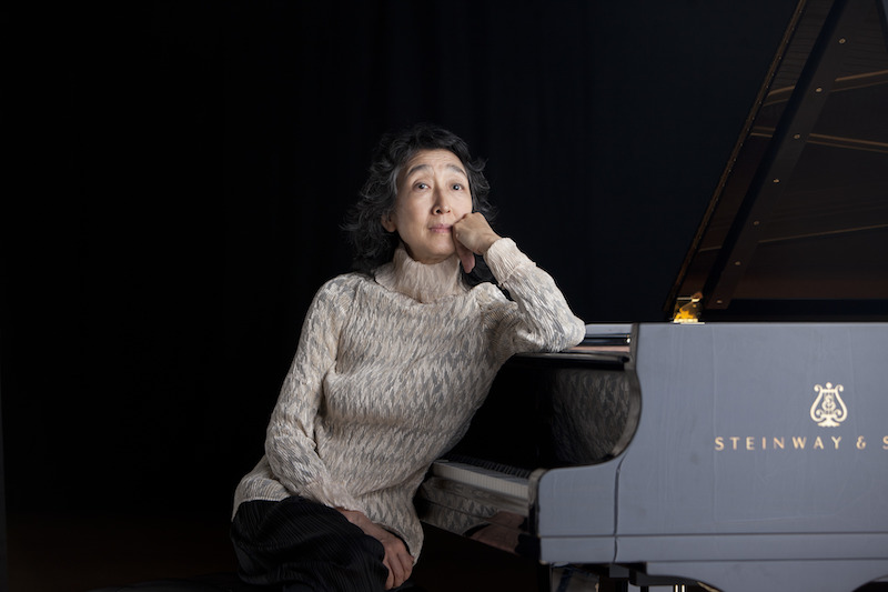 Mitsuko Uchida pianist and conductor (c) Decca and Justin Pumfrey