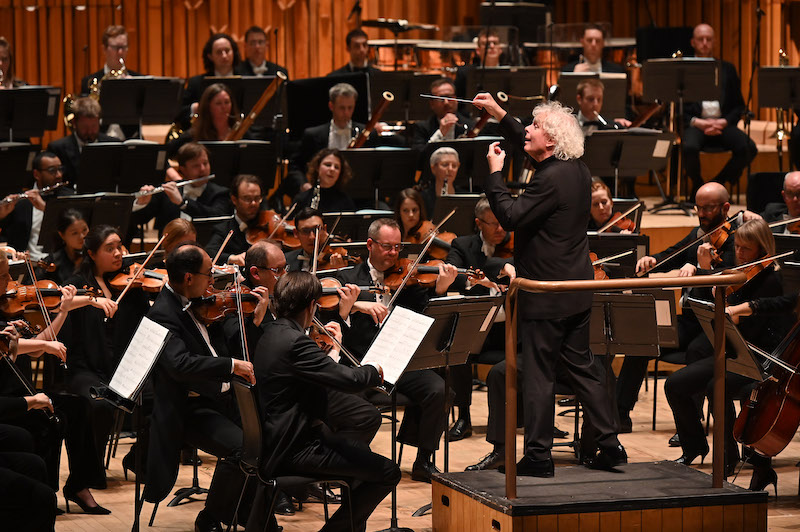 LSO and Simon Rattle at the Barbican (c) Mark Allan