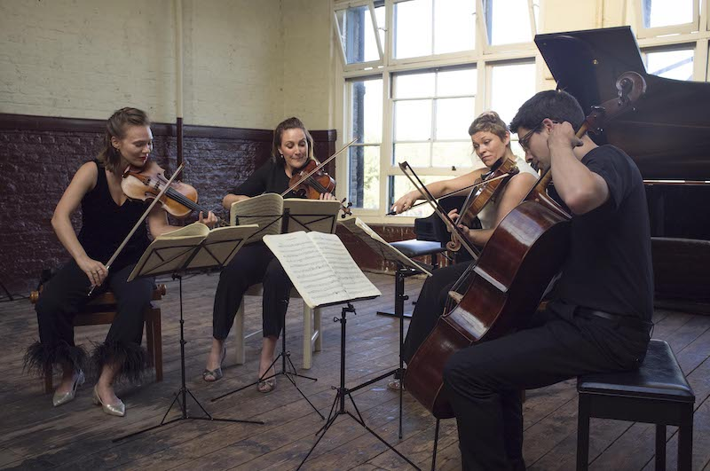 The Albion Quartet at the Ragged Music Festival