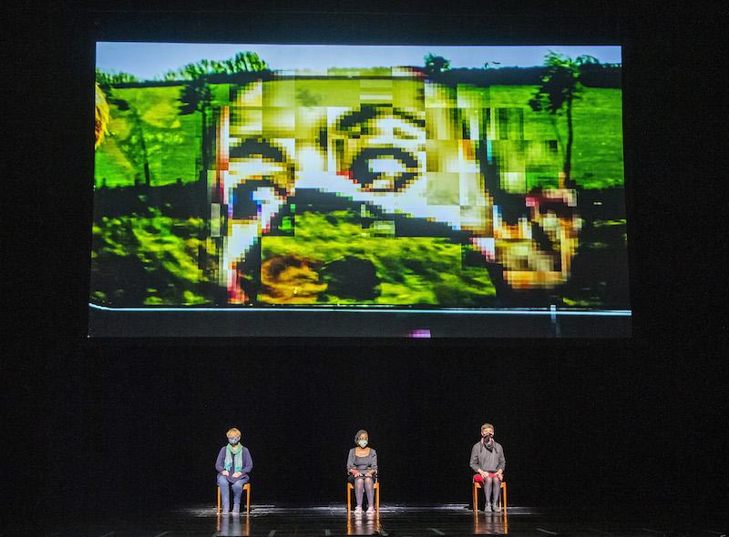 Susan Bickley, Nadine Benjamin and Anna Dennis in A New Dark Age (c) Tristram Kenton/ROH